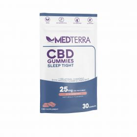 CBD Sleep Tight Strawberry Gummies 750mg