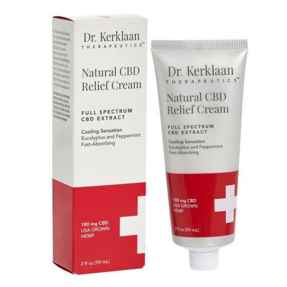 Natural CBD Relief Cream 180mg