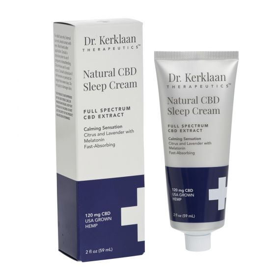 Natural CBD Sleep Cream 120mg