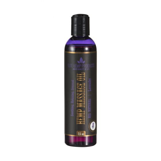 Hemp Massage Oil Lavender
