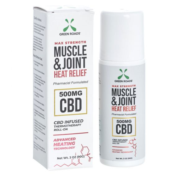 CBD Muscle & Joint Heat Relief 500mg