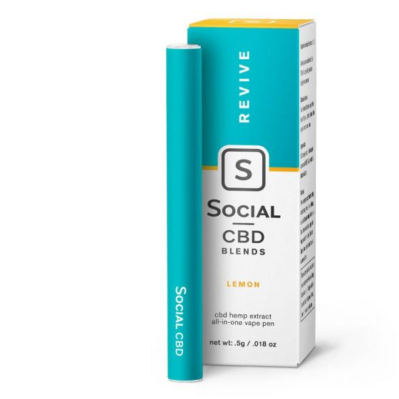 CBD Vape Pen Revive Lemon 250mg