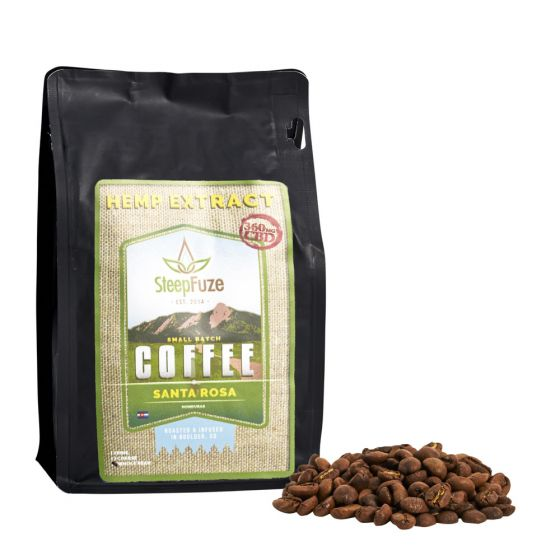 CBD Light Roast Whole Bean Santa Rosa Honduras 360mg