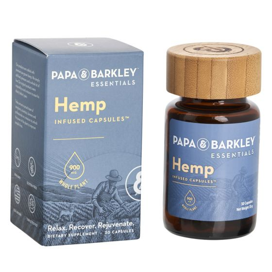 CBD Hemp Capsules 900mg by Papa & Barkley